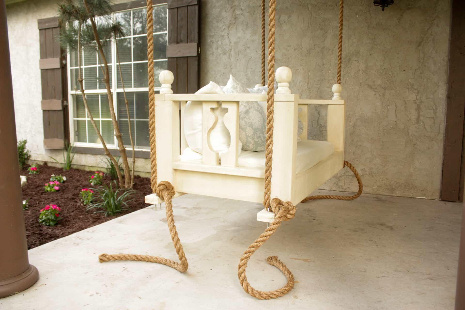 Diy Porch Bed Swing