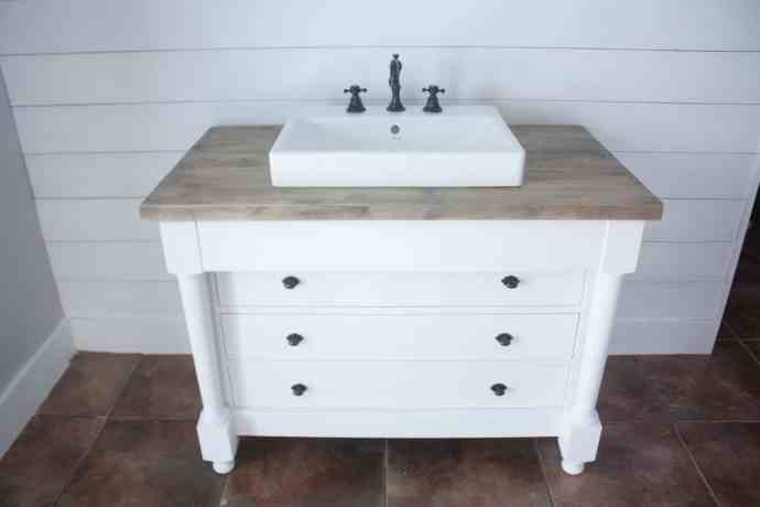 DIY Dresser Vanity