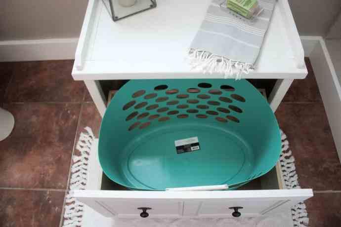 Laundry Hamper Bench