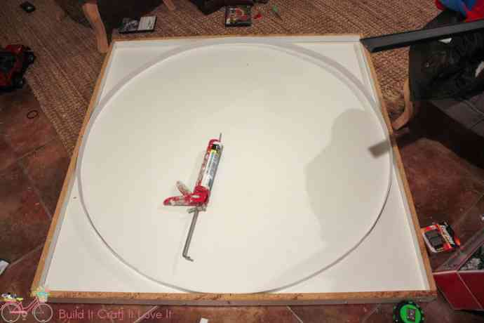 DIY Round Concrete Table Top The Inspired Workshop - Round concrete table top mold