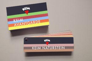 Keim colour palettes, colour, buildmumahouse, paint, corbusier