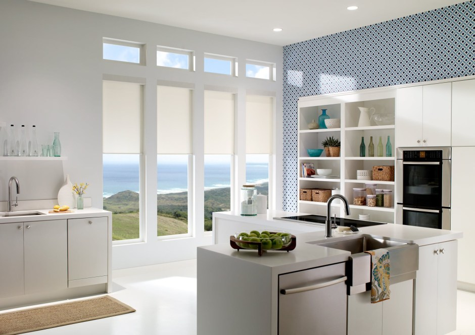innovative blinds setting for automation solar automated shades library openings commercial lutron motorization