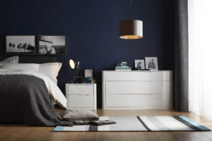 Katie Gibbs, Next Directory, buildmumahouse, makeover, bedroom makeover, clour, airforce blue