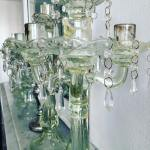 glass Candelabras