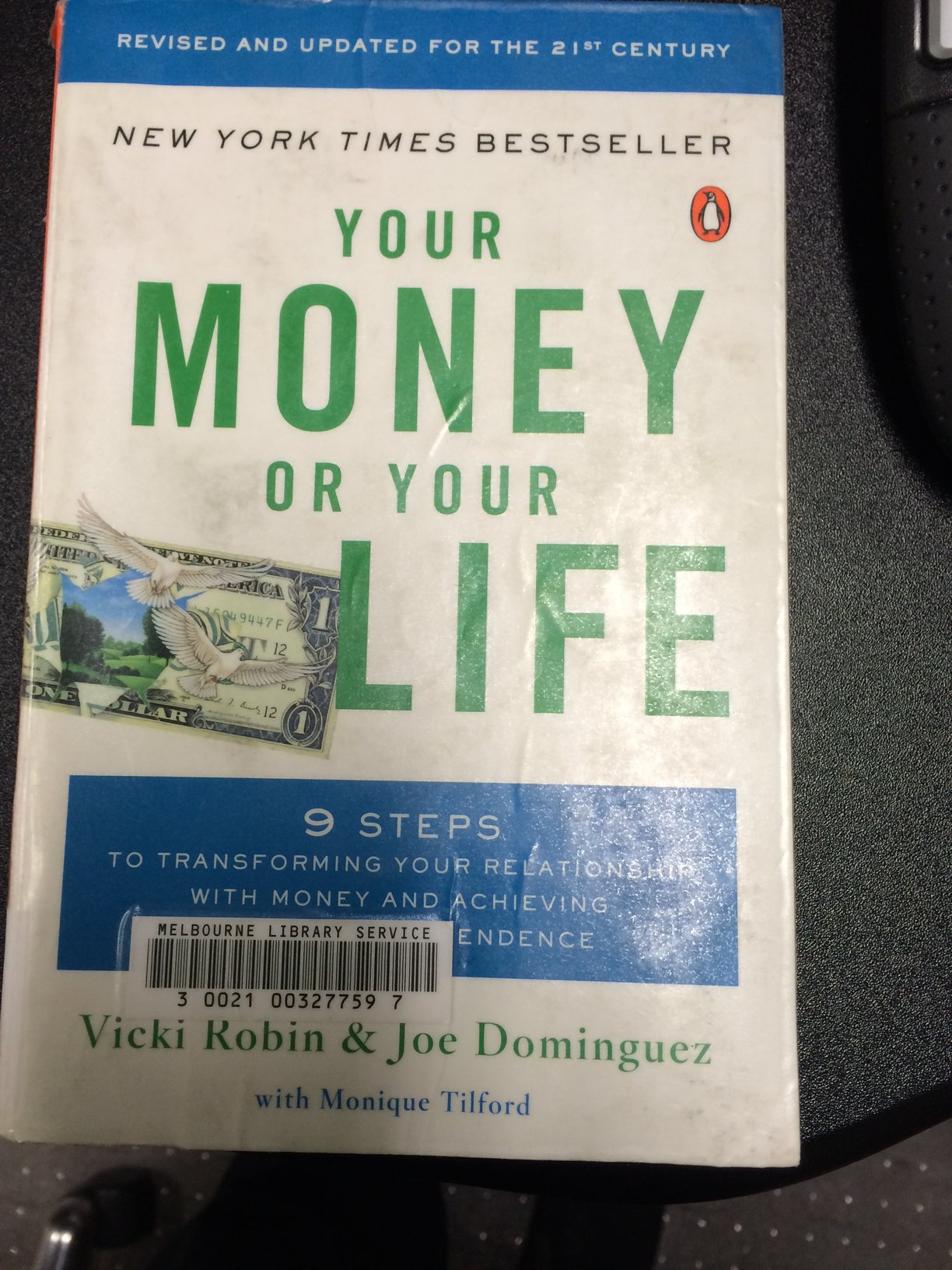 Your Money Or Your Life By Vicki Robin Amp Joe Dominguez