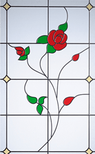 english rose glass