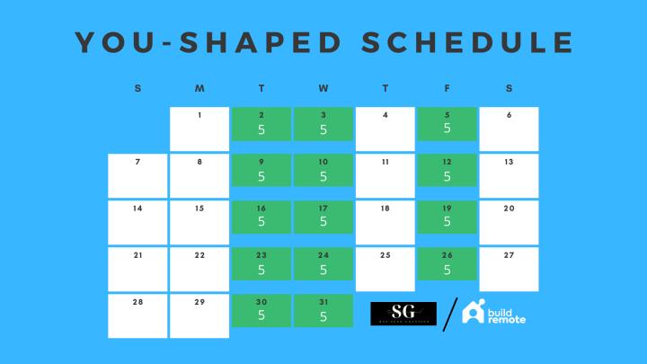 15 hour work week schedule