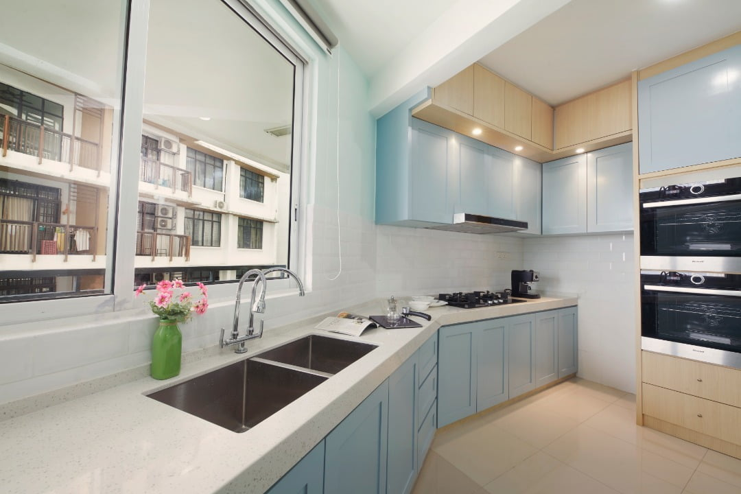 Kitchen and bathroom remodels