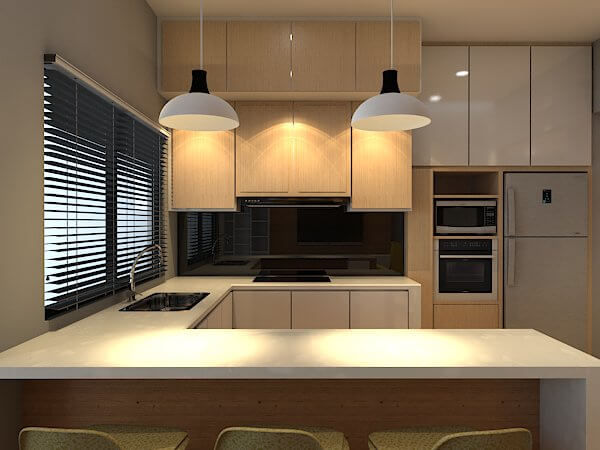 small space and apartment kitchens