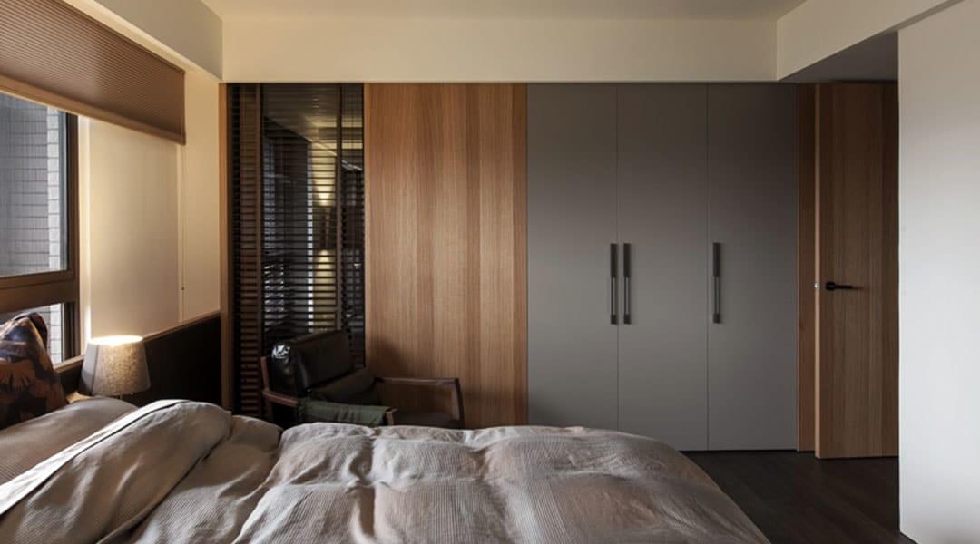 interior design - bedroom swing wardrobe