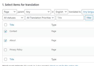 اختيار الذ تريد ترجمتة