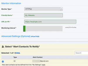 تحديد طريقة مراقبة (HTTP أو HTTPS)