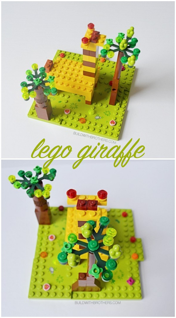 Read more about the article Super simple lego giraffe building instructions for kids