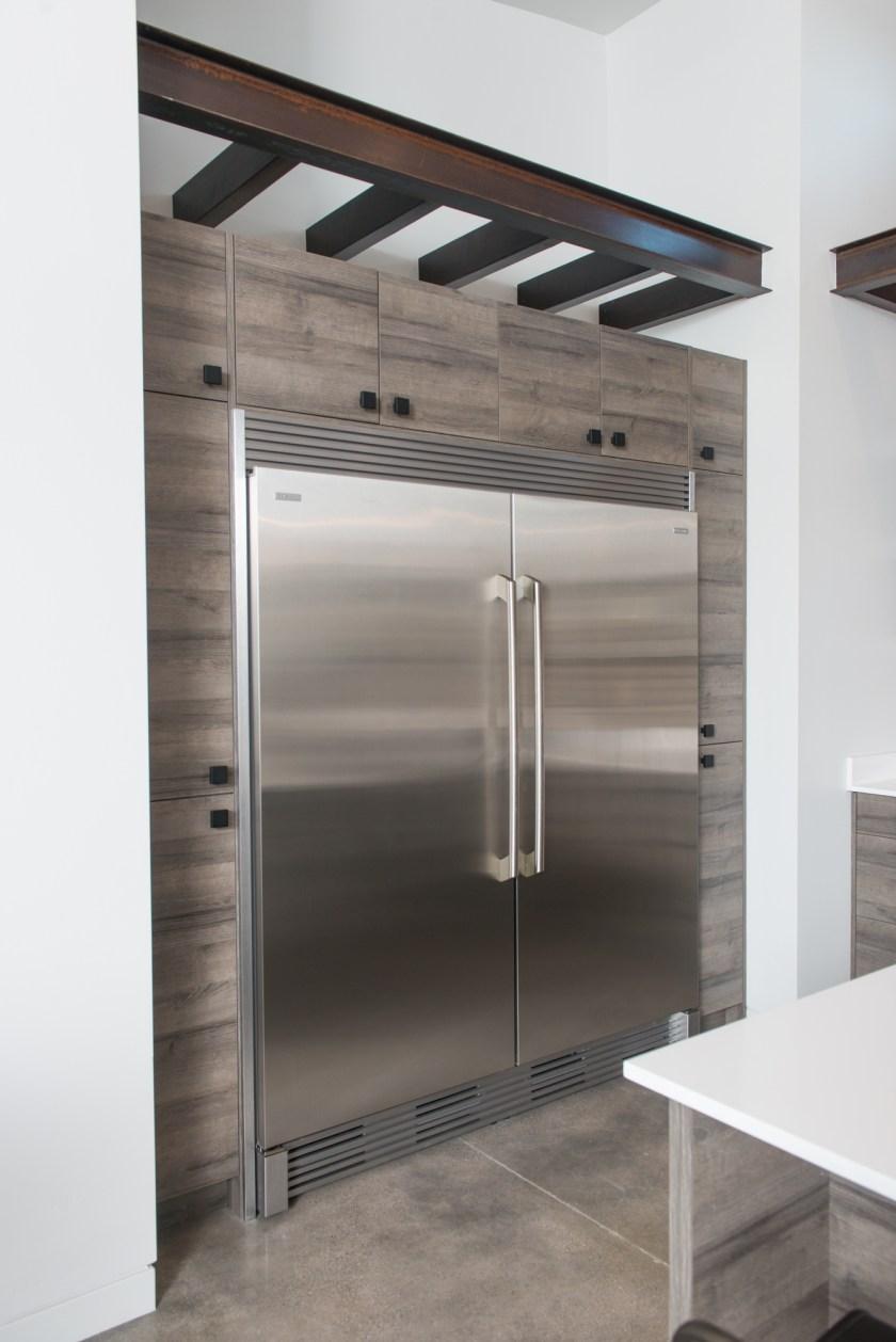Kitchen Refrigerator Freezer - 3rd St New Build