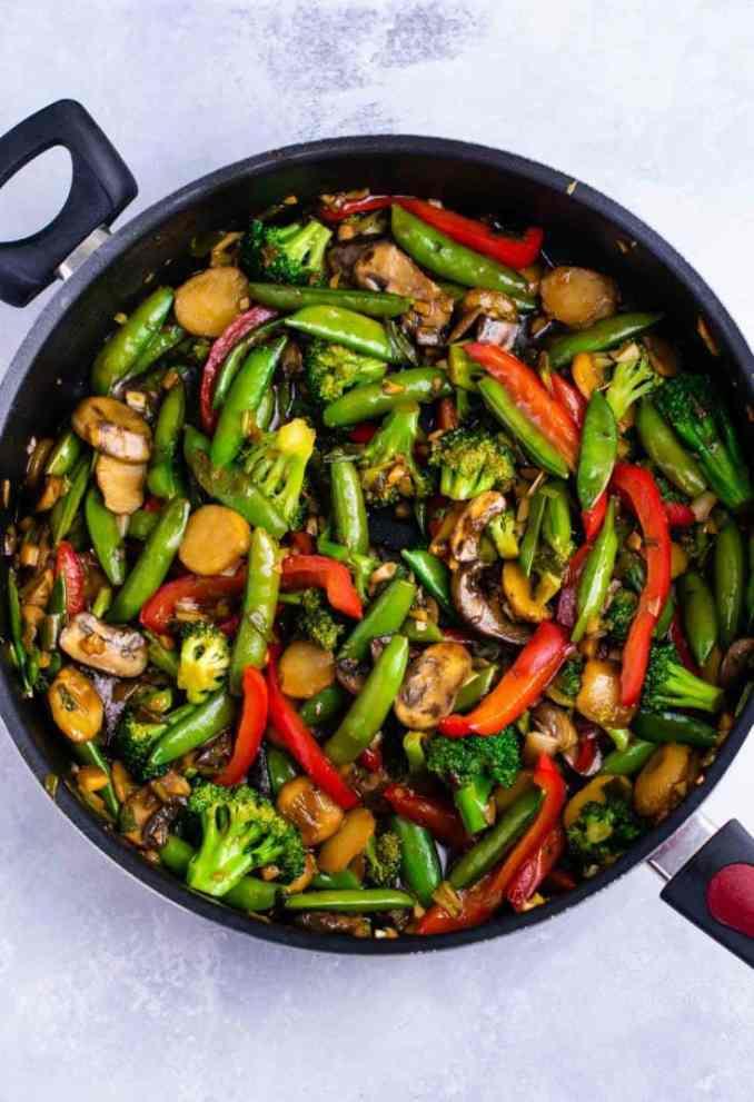 Stir Fry Vegetables Recipe - Build Your Bite
