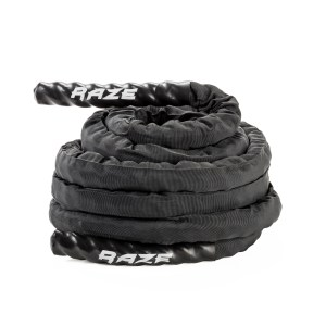 Battle rope with sleeve
