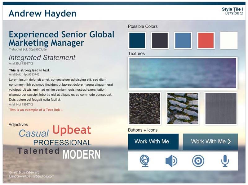 Andrew Hayden Style Tile