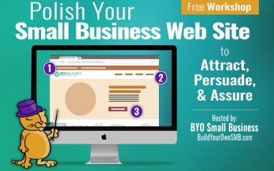 Workshop April 9: Polish Your Small Business Website