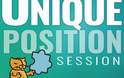 Find Your Unique Position Session