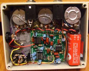 Klon Centaur clone parts layout and Klon Centaur klone wiring diagrams