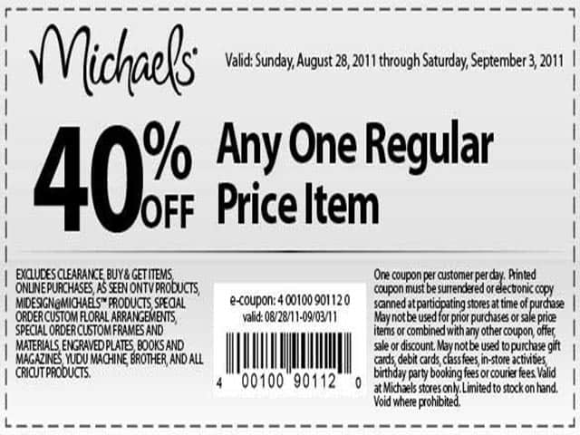 Check latest 21 Michaels promotions & deals at iFunbox
