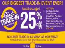 Toys R Us Trade In Deal – 25% Off