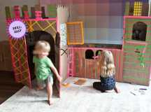 Cardboard Castle Inspiration from DwellStudio's Christiane Lemeiux