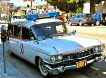 The Ghostbusters are Back! Check Out The Ectomobile (Ghostbusters Car)