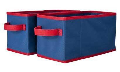 fabric box lego storage