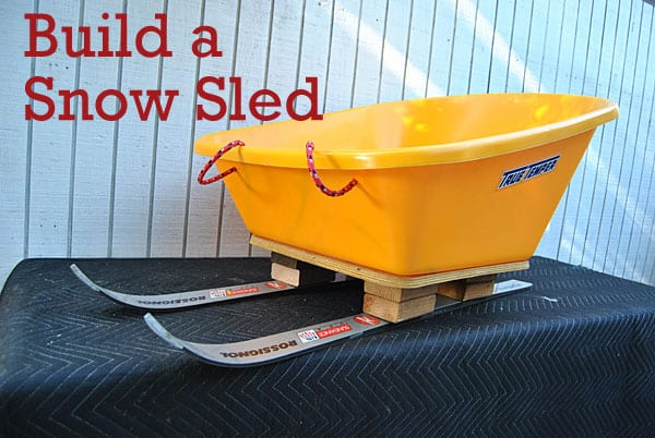 build-snow-sled