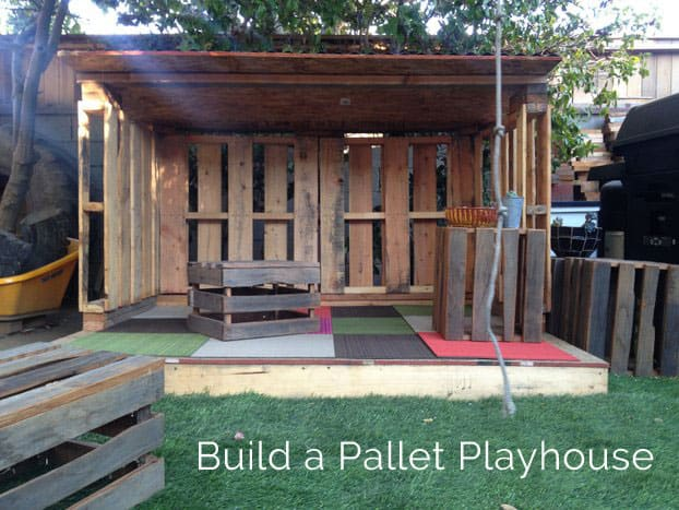 Build a Pallet Playhouse
