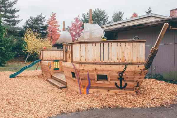 A Custom Built Playground for Kids in Need