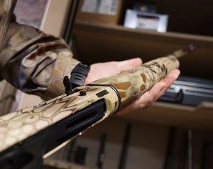 Kryptek rifle camo