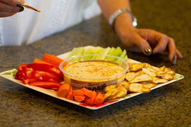 Hummus tray