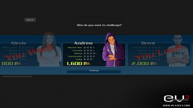 Extreme Velocity 3 score screenshot