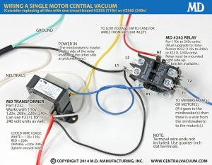 MD Manufacturing's Central Vacuum Relays, Transformers and