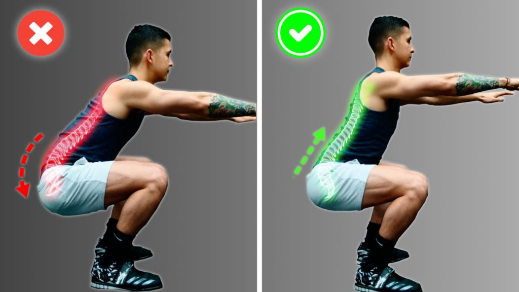 How To Squat Correctly (Three Errors Harming Your Decrease Again!)