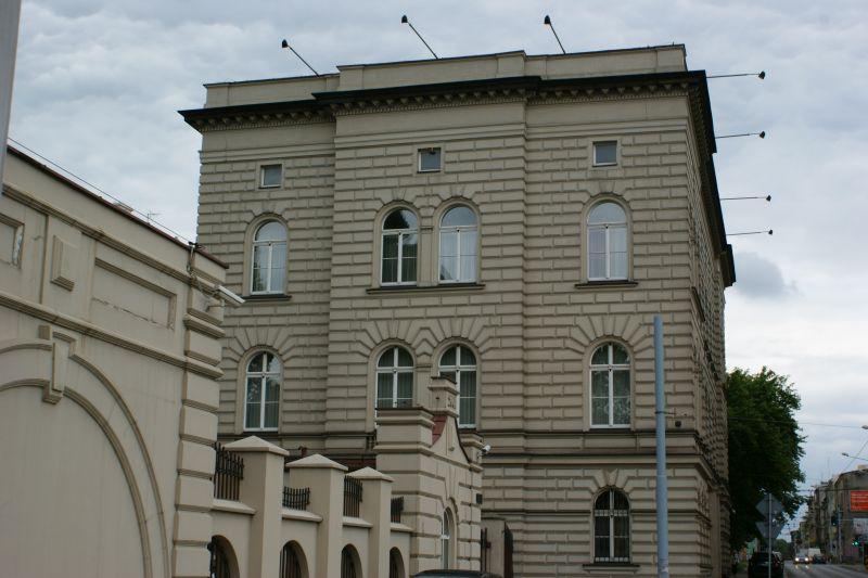 Neorenesansowy pałac przy ul. Kilińskiego