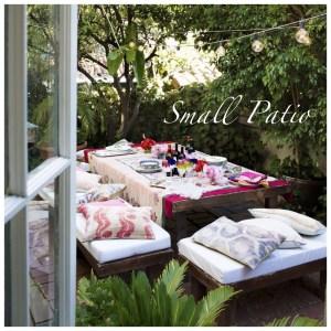 Decoración: Ideas para decorar pequeños patios y terrazas.