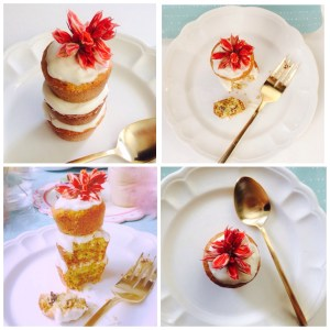 Para celebrar: Mini Cakes de Almendras