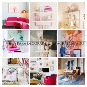 Decoración: 5 Tips para decorar un espacio rentado