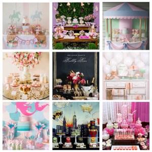 En imágenes: Crea una mesa de dulces fuera de serie.