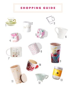 Shopping Guide: Tazas para regalar