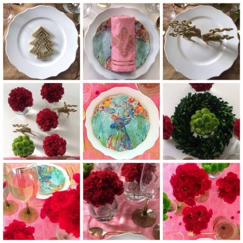 decorar la mesa para celebraciones