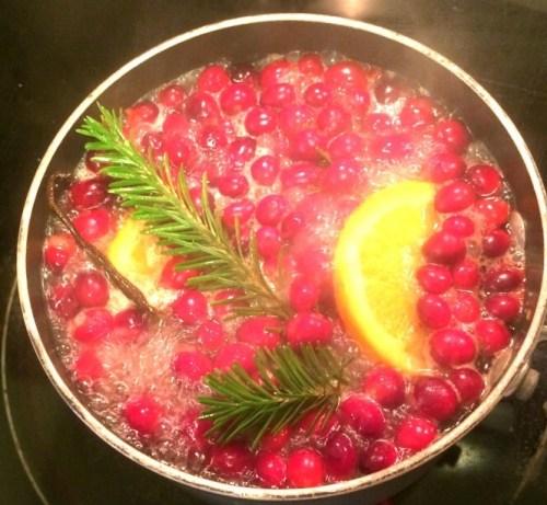 crear un aroma navideño en casa