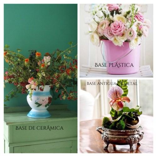 Formas de presentar flores en casa