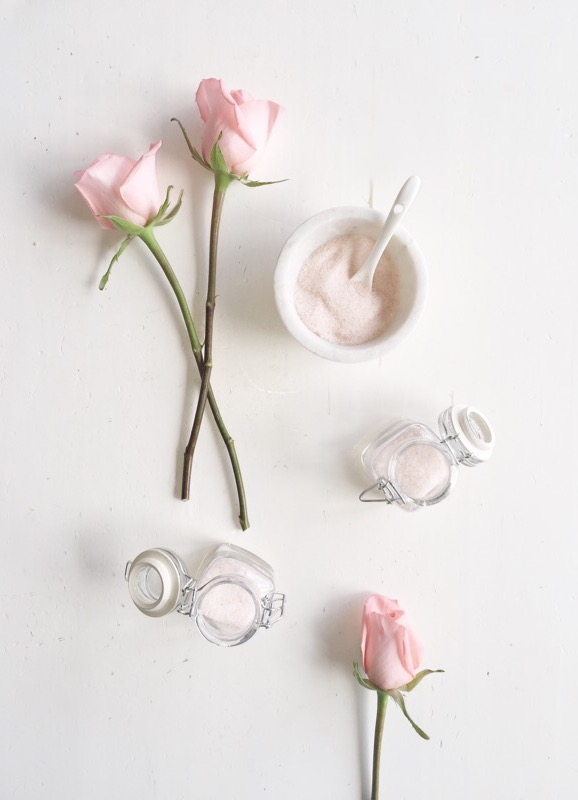 exfoliante de rosas