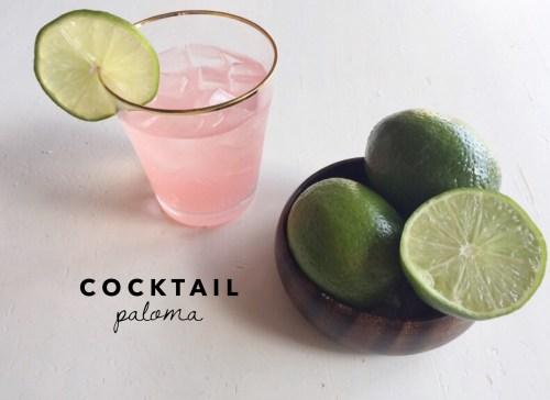 cóctel paloma