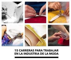 15 Carreras para Trabajar en la Industria de la Moda