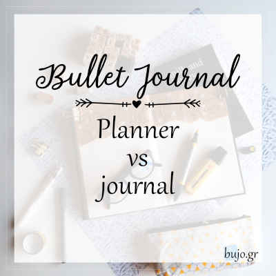Planner vs Journal